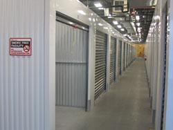 mini storage hallway